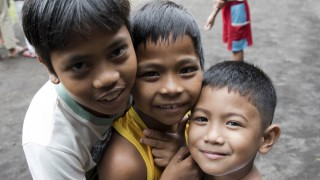 Three boys from the Philippines
