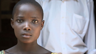 A photo of Lehanna, who was forced out of school to marry a man twice her age.