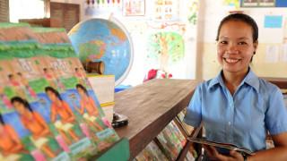 Tort, smiling, Cambodia