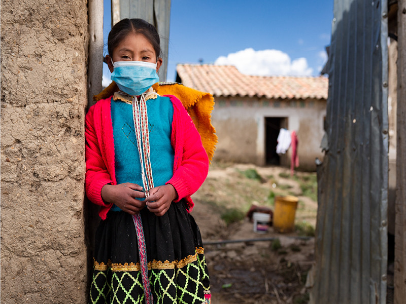 Girl from Cusco, Peru