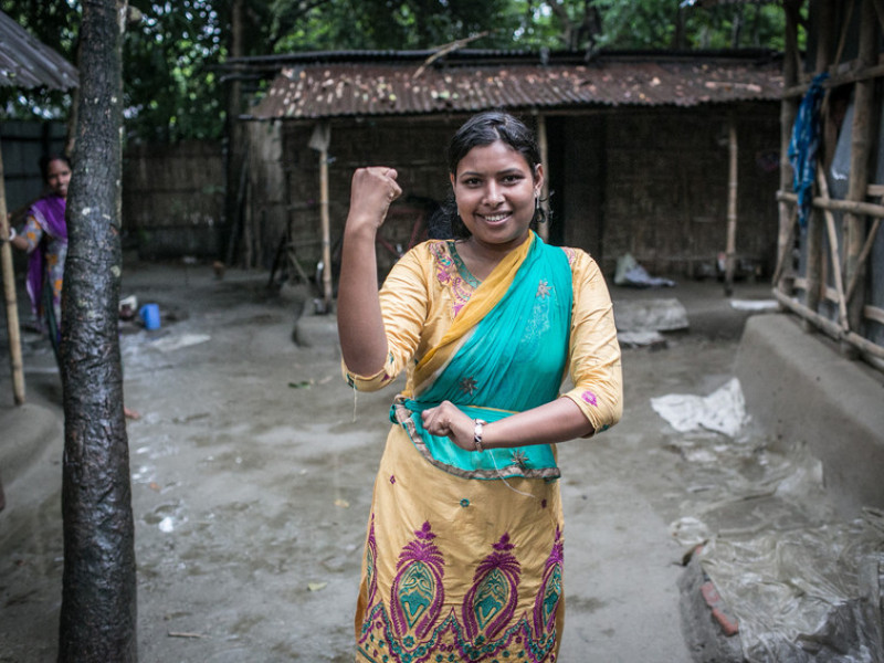 Radha, Youth Campaigner, Bangladesh