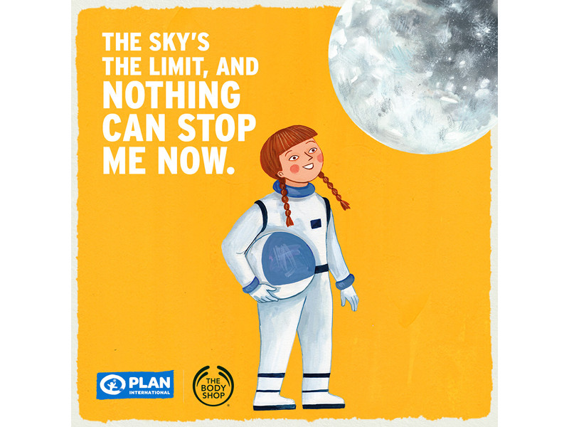 Graphic from the Dream Big campaign