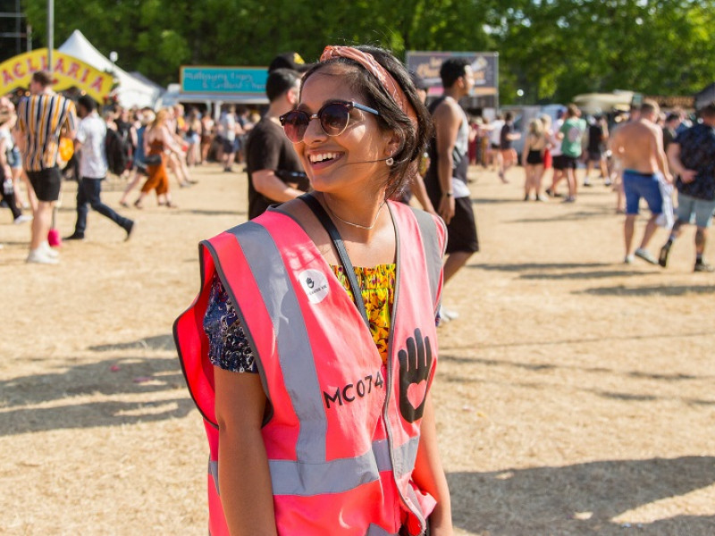 festival volunteering