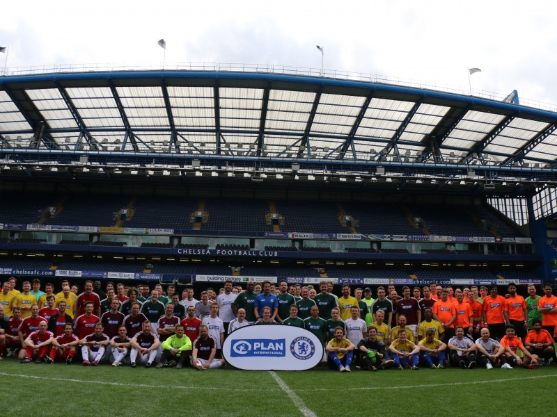 Champions of change prepare to kick off at Stamford Bridge