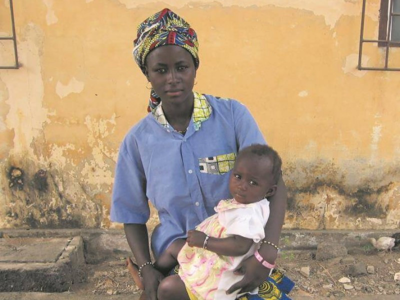 Mother and daughter from Togo