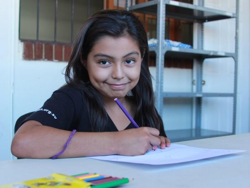 A girl from El Salvador