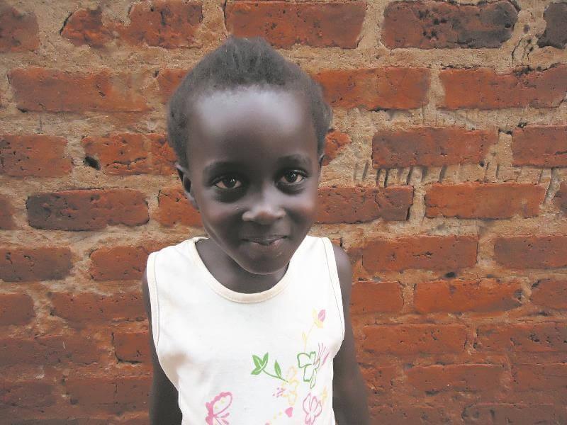 A girl from Uganda