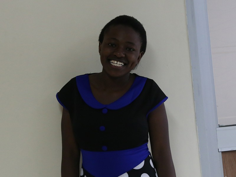 Georgina is a youth advocate from Kenya