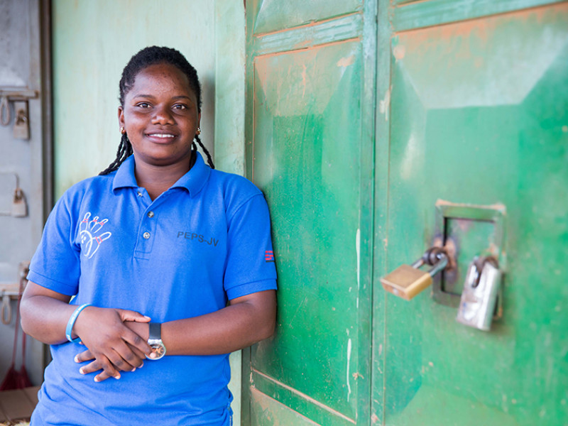 Norah is a youth advocate from Uganda