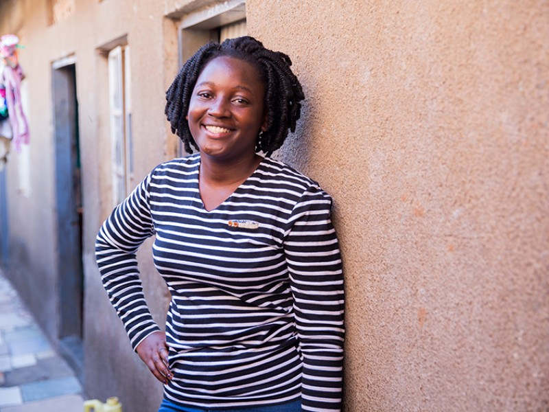 Youth advocate Viola, from Uganda