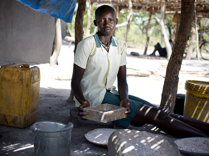 Mary, 15, South Sudan