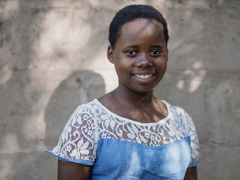 In Mozambique, Sofia dreams of being a doctor