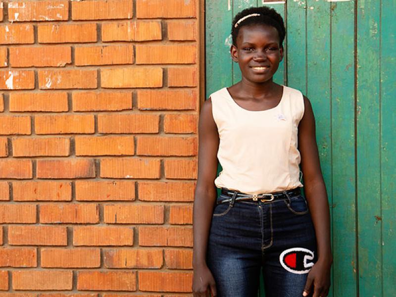 Faridah in Uganda