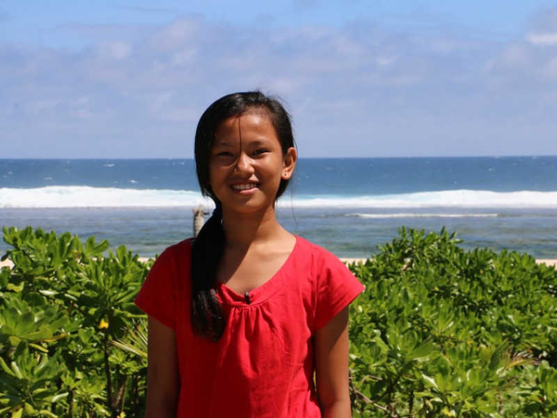 Reane is a Plan International sponsored child in the Philippines