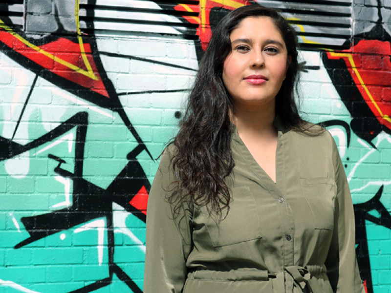 Peymana is Plan International UK's Campaigns Officer
