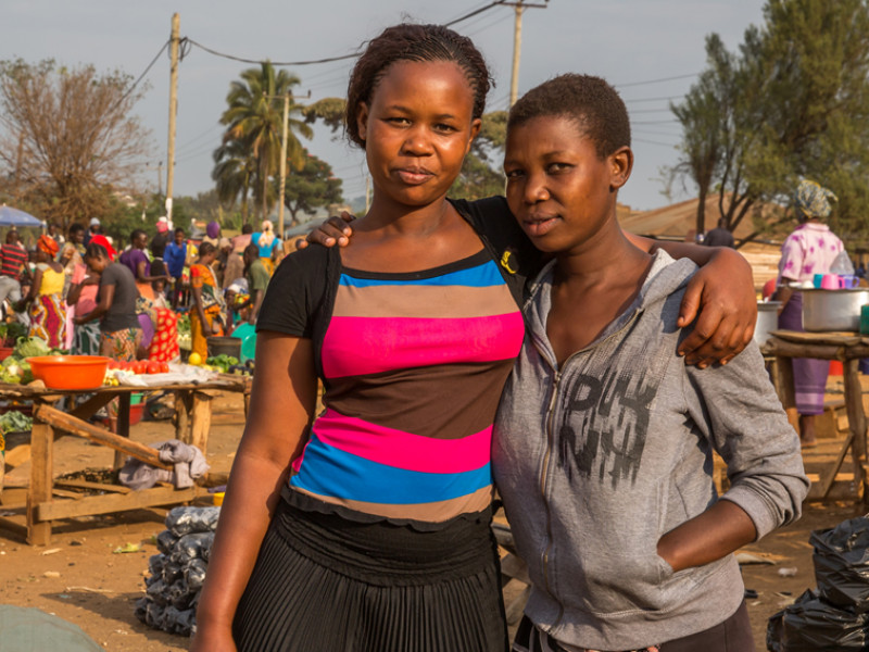 Working with Plan International, Margret and Beatrice are making sure future generations won't have to experience FGM.