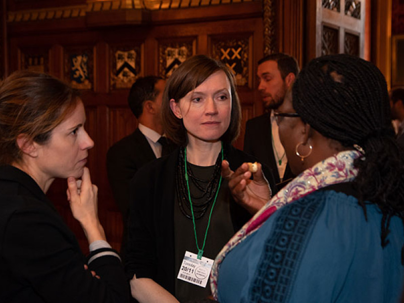 Kathleen from Plan International UK's Policy and Advocacy team