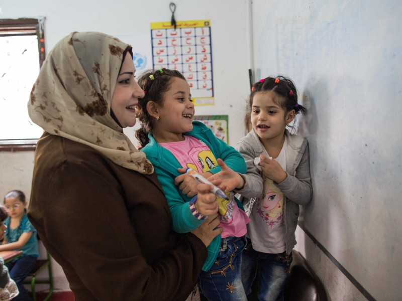 Parenting education sessions for Syrian mums