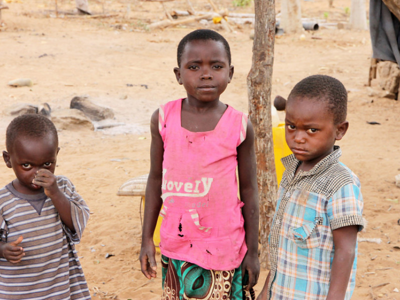 Children are too hungry to go to school in Kenya due to the food crisis
