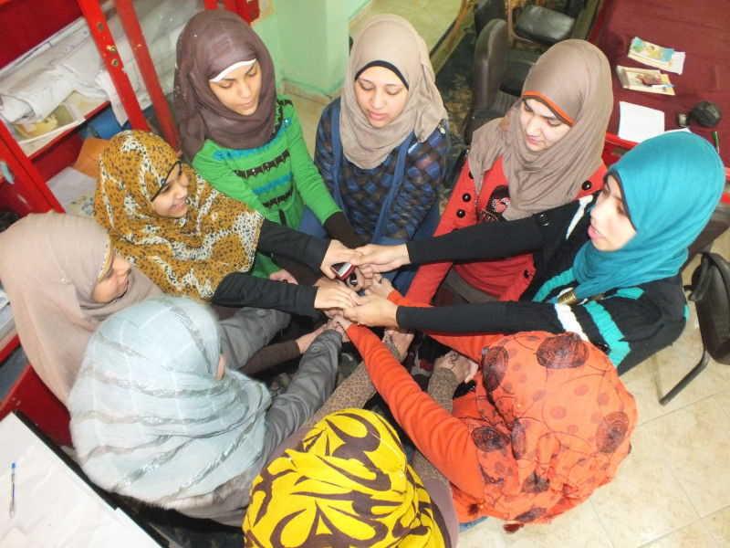Girls in Egypt take part in training on harmful traditions such as FGM
