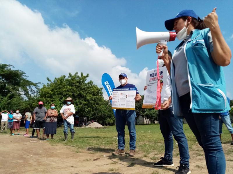 In Honduras, Plan International staff raise awareness about how to keep children safe