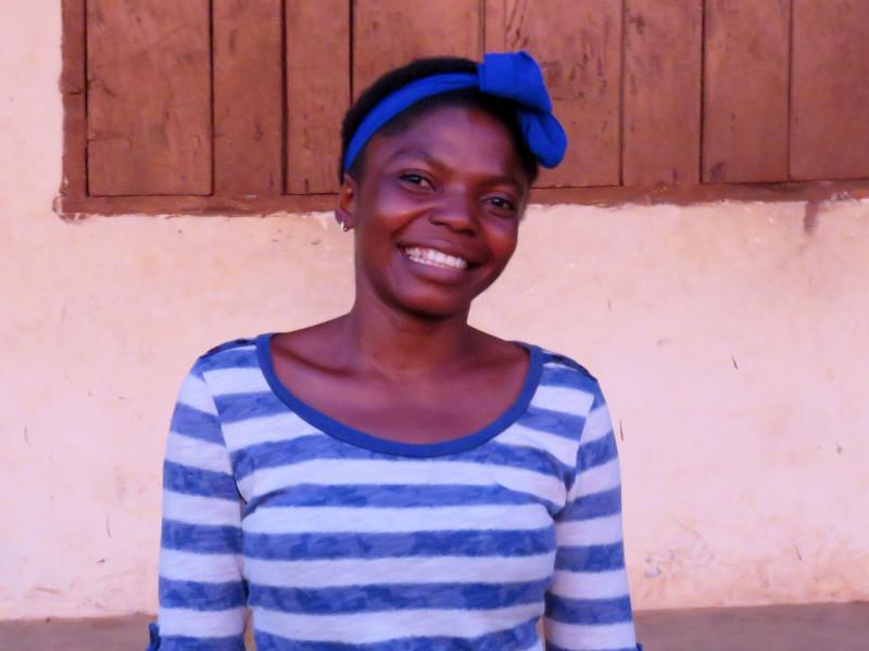 Catherine is a teacher in Sierra Leone