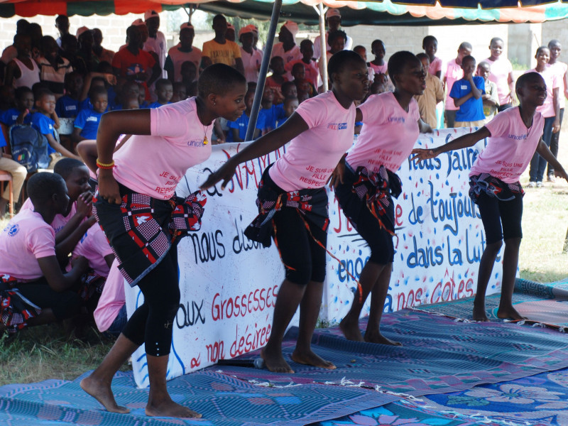 International Day of the Girl celebrations, Burkina Faso, 2018