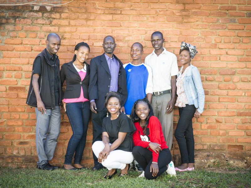 Youth campaigners ending child marriage in Malawi