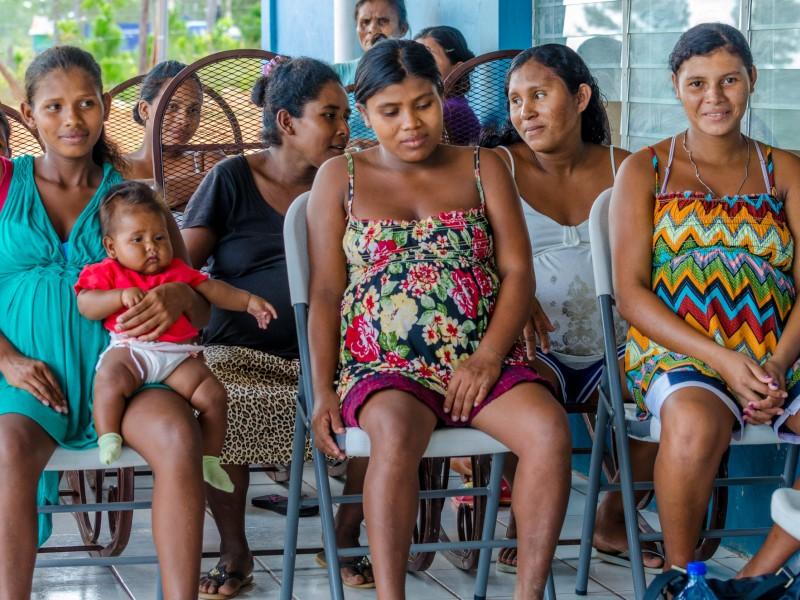 Teenage mothers in Nicaragua