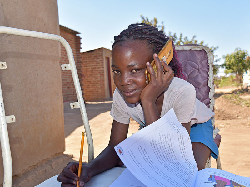We can help girls like Yollanda thanks to your fundraising efforts