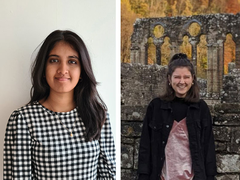 Yusra and Kirstie from Cardiff are raising awareness of period stigma in minority communities