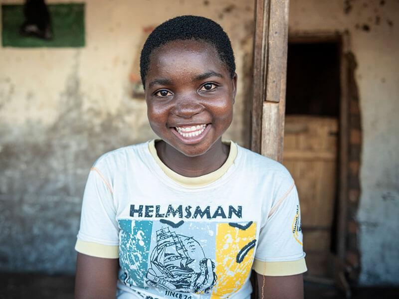Gertrude, 16, Malawi