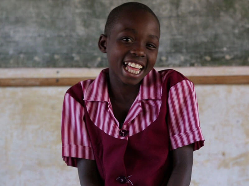 Eudel, 8, Zimbabwe - Sponsored child