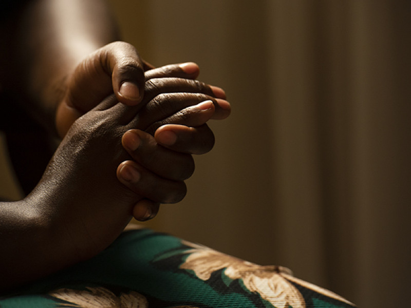 A survivor of sexual exploitation at work in Uganda