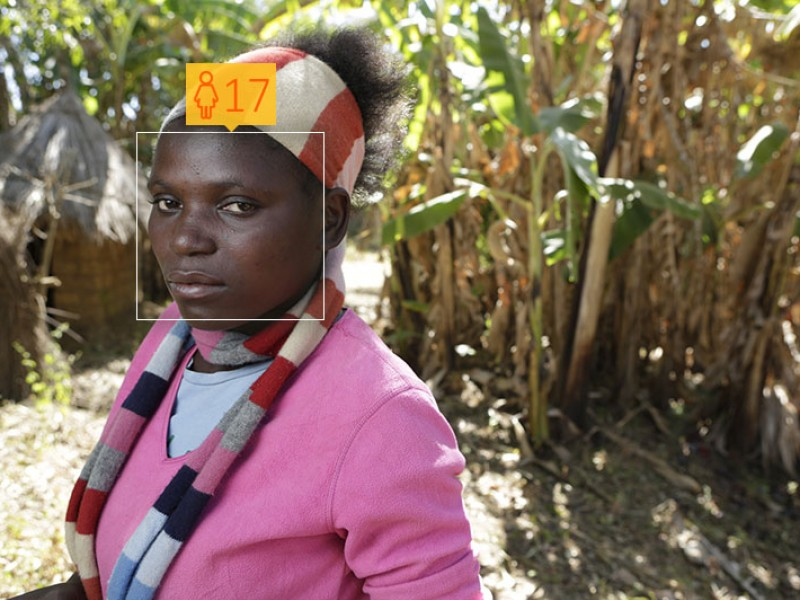 Brendah, from Zambia, dropped out of school in ninth grade