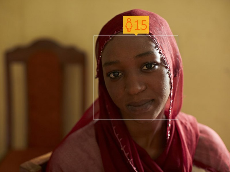 Lamana, from Cameroon, was forced to marry when she was just 15