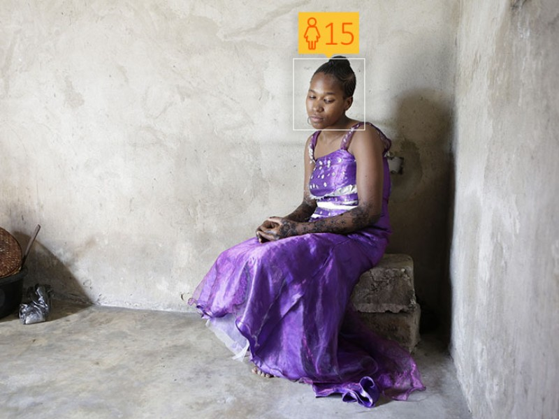 Latifa, 15, was sold into marriage by her parents