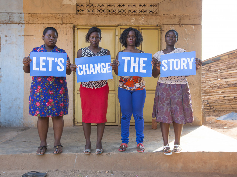 Sophie and campaigners are standing up to improve sexual health and education in Uganda