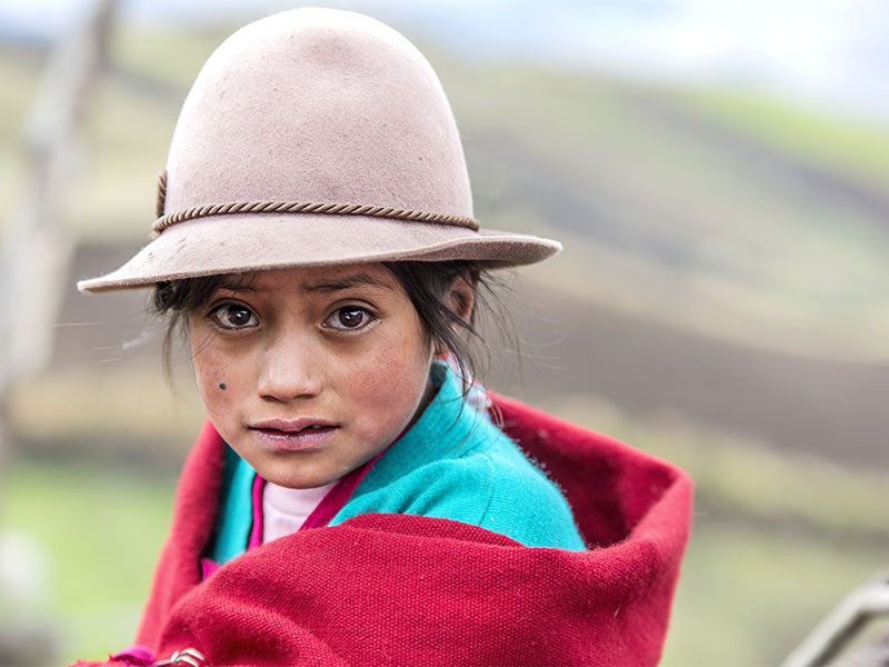 Jenny, Ecuador - The Chance to Be a Child Again