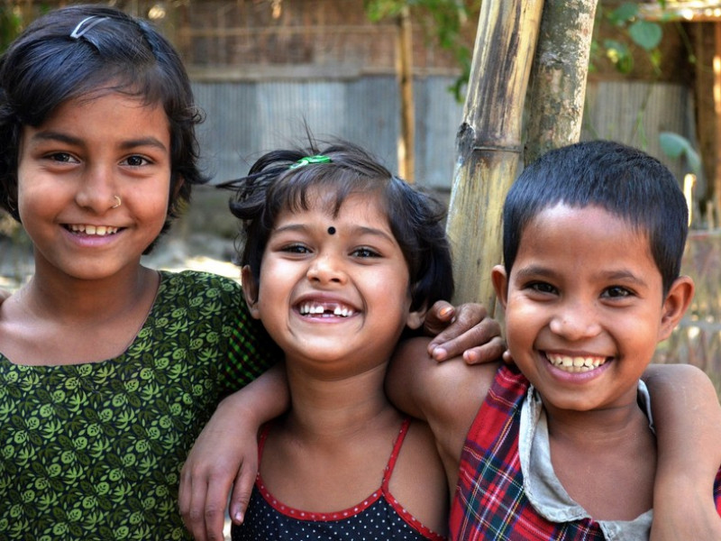 UK aid is helping to give children in Bangladesh a safer future