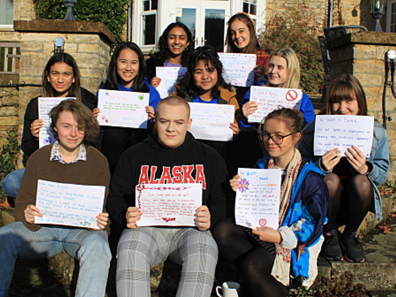 The Youth Advisory Panel in solidarity