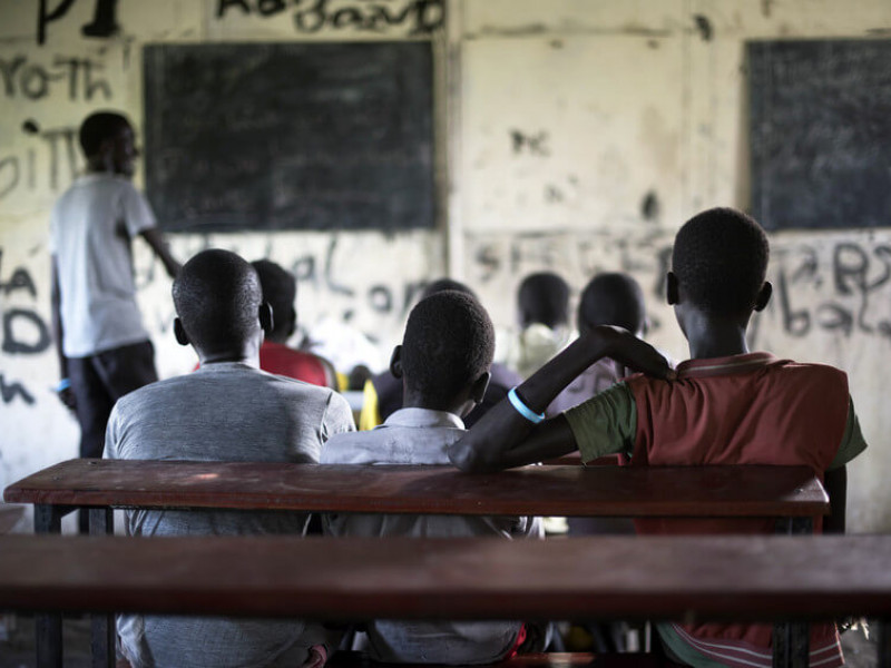 Former child soldiers in South Sudan