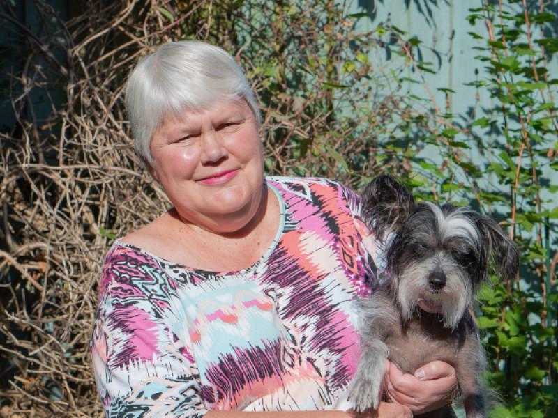 Legacy pledger Cathy