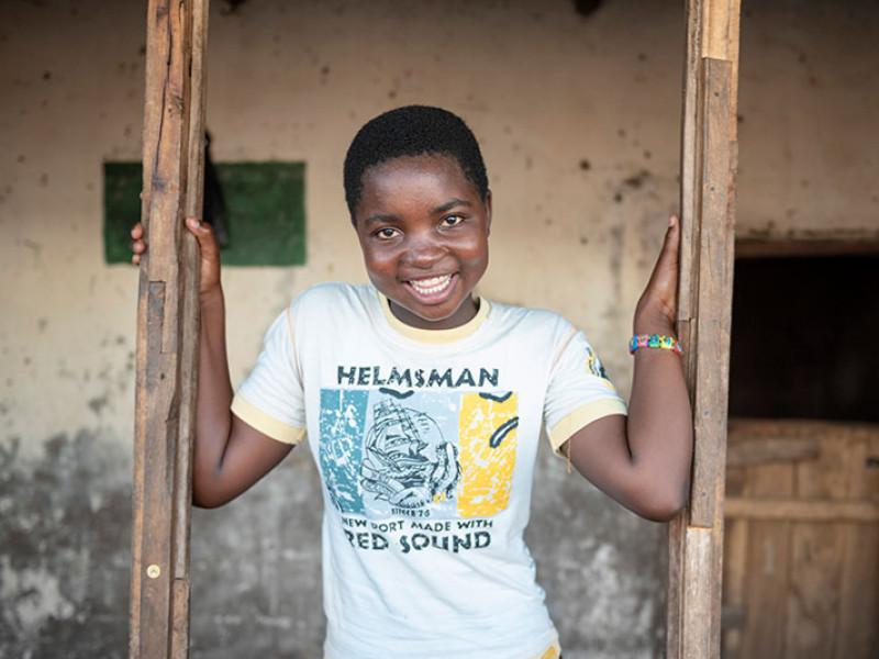 Adolescent girl in Malawi