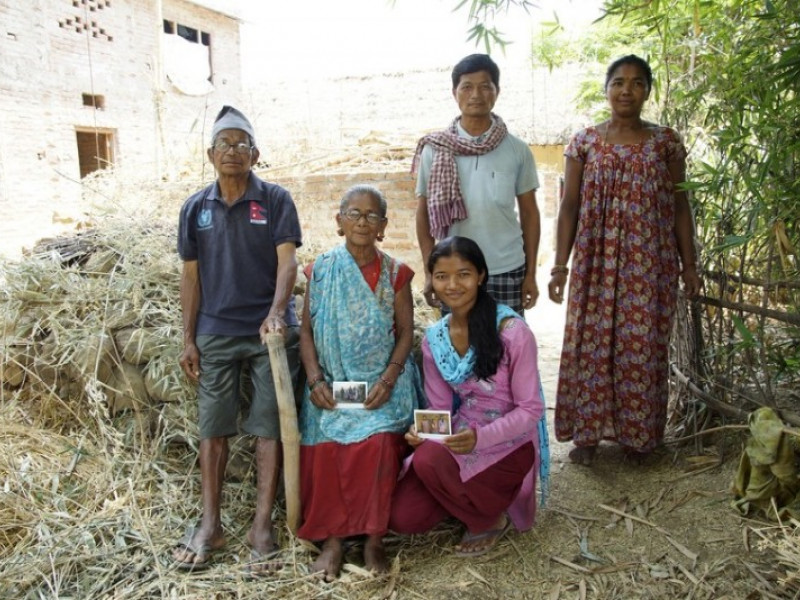 Three generations of Kamalari in Nepal