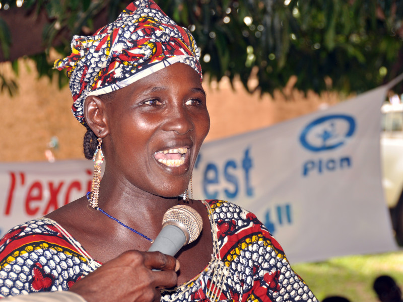 Kadida speaking out against FGM