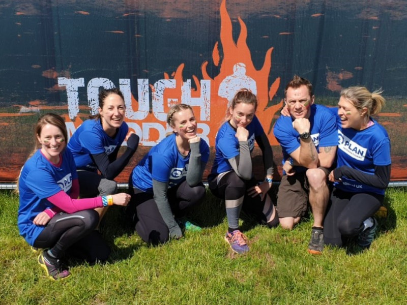Plan International UK at Tough Mudder