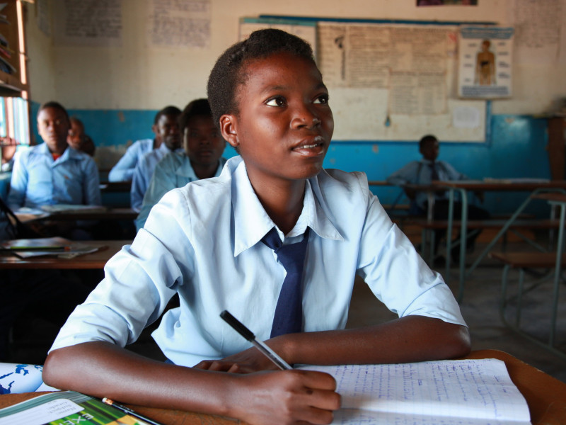 Plan International works to ensure all girls have access to a quality education
