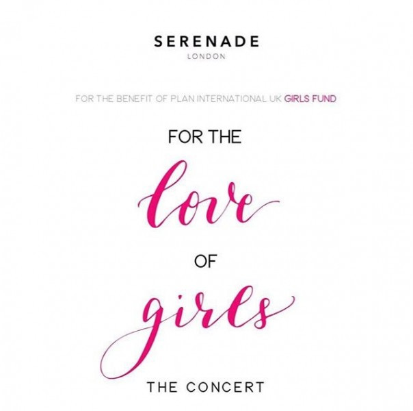 For The Love of Girls concert event poster