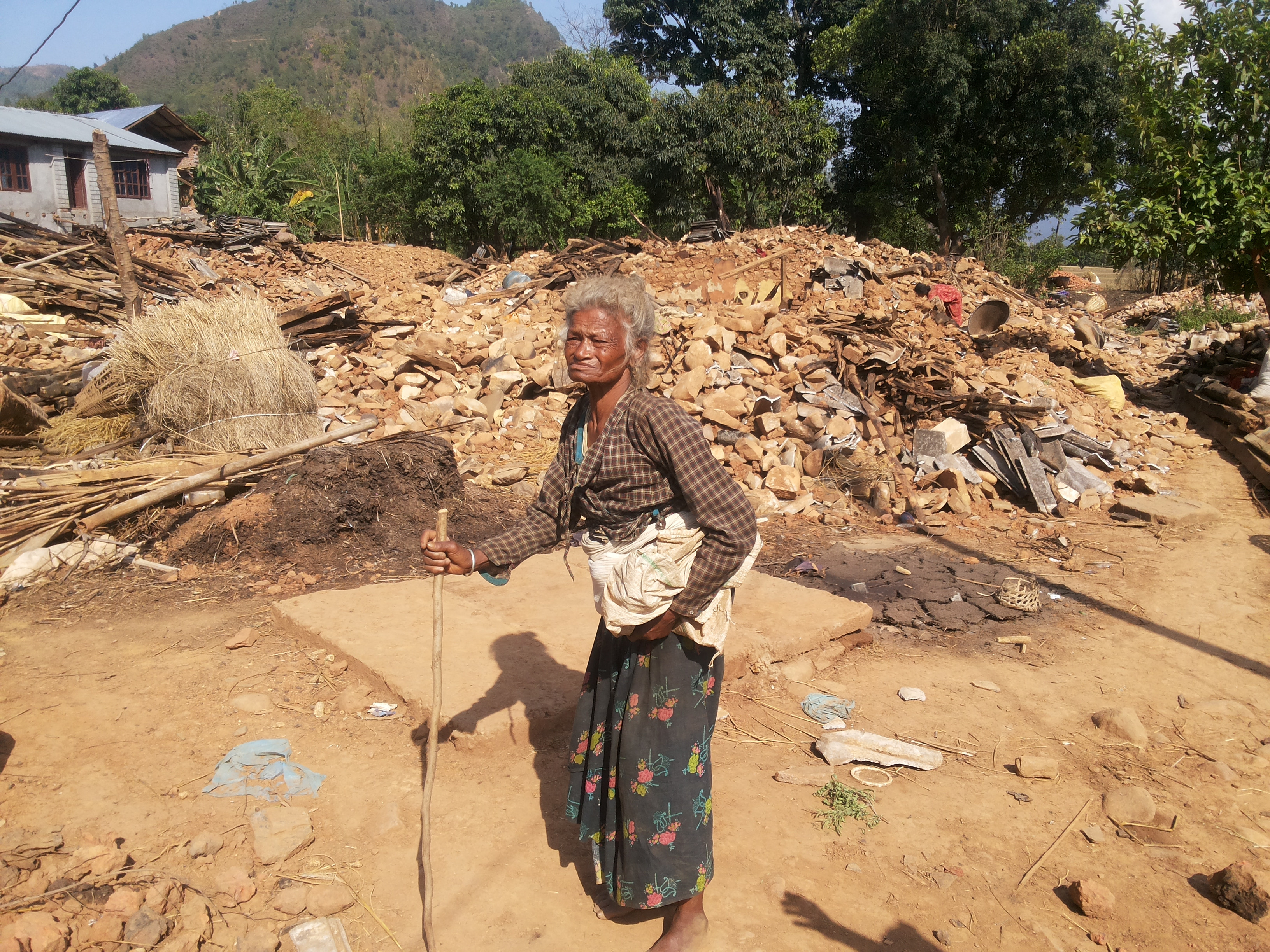 Padma lost everything to the Nepal earthquakes